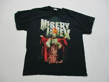 Misery Index Concert Shirt Adult Extra Large Black Death Metal Rock Music Mens