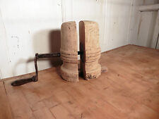 Wood/ Woodenware Primary French Antique Wooden Stands
