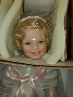 "Danbury Mint Shirley Temple ""Flower Girl"" Doll"