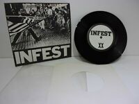 """Infest Not On Label (Infest Self-released) IF-001 7"""" EP 33RPM Grade: VG"""