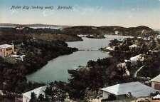 Bermuda Mullet Bay Birdseye View Of City Antique Postcard K62006