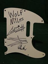 Wolfmother Group Signed Autographed Pickguard C