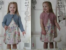 PATTERN ONLY. King Cole pattern 4548.Child's Boleros.