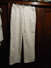 ST. JOHN White Stretch Fabric Jeans NWT  14