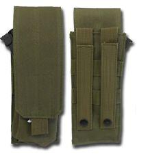 PORTA CARICATORE SOFTAIR SINGOL MOLLE M4-M16 VERDE ROYAL PER TATTTICI MOLLE
