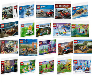 LEGO: Polybags & Foil Bags Various. New & Sealed.