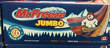MR FREEZE JUMBO FREEZE-ICE POPS 70 PACK 150ml-5oz MADE IN CANADA