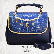 Japanese Gothic Lolita Vintage Harajuku Sweet Galaxy Star Handbag Shoulder Bags