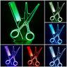 LED Tischlampe Tischleuchte Nachtlicht 7 facher Farbwechsel Kamm+Schere Friseur