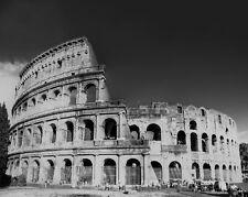 THE ROMAN COLOSSEUM in Rome Italy Glossy 8x10 Photo Coliseum Poster Amphitheatre