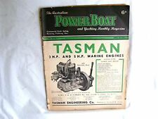 1948 Australian Power Boat and Yachting Monthly Magazine sailing yacht APBA fish