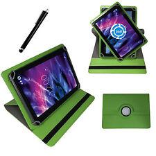 360° 10 Zoll Tablet Tasche für Medion Lifetab P10602 MD 60519 Schutz Hülle Grün