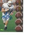 Kyle Brady Jets Autographed Card