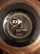 Dunlop Black Widow 17g Tennis String 660 ft / 200 m Reel - New