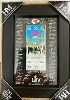 Super Bowl LIV Champions Kansas City Chiefs M-Series Signature Ticket
