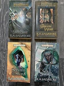 Forgotten Realms Paths of Darkness Series - all 4 books from the series