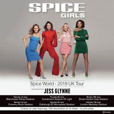 Spice Girls Tickets - Manchester Etihad          Fri 31/5/2019