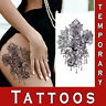 Temporary Tattoo Realistic Tribal Ornament Body Art arm chest waterproof sticker