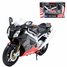 Welly 1:10 Aprilia RSV 1000R Motorcycle Model Bike Red Black