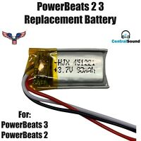 Replacement Battery for Beats Powerbeats 2 3 Wireless Headset by Dr Dre 90mAH