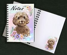 Cockapoo Dog Notebook/Notepad + small image on every page by Starprint