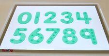 tickit silishapes à pois numéro vert formes à compter mathématique éducatif