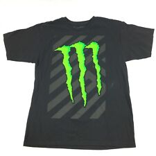 Monster Energy Drink Graphic T Shirt Mens Size Large Black