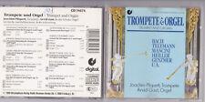 Bach, Telemann, Heiller, Genzmer, Pliquett, Arvid Gast -Trompete & Orgel- CD