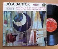 SUA ST 50740 Bartok Violin Sonata Contrasts Andre Gertler SUPRAPHON Red Stereo
