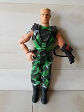 Blonde GI Joe Figurine Toy Action Figure in Camo Boys play soldier Army
