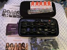 TopStyler by InStyler Hot Rollers Curlers Heated Ceramic Styling Shells & Case.