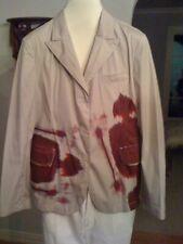 Jil Sander cotton blend print blazer