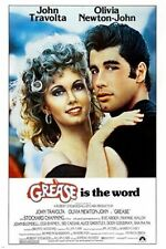 classic movie poster GREASE olivia NEWTONJOHN john TRAVOLTA  Art Print 36x24inch