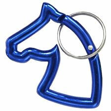 Tough-1 Horsehead Carbiner Keychain - Blue/Royal