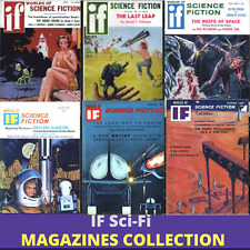 WORLDS OF IF|Science Fiction Pulp Magazine Collection|168 Magazines on 1 DVD-ROM