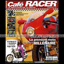 CAFE RACER N°29 DUCATI M 900 S & MHE YAMAHA YZF R1 NORTON VR 880 COMMANDO SPRINT