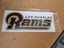 """10"""" Inch LA Los Angeles Rams Window Sticker Decal Window Bumper Wall Football"""