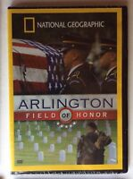 DVD National Geographic: Arlington: Field of Honor 2005 Sealed
