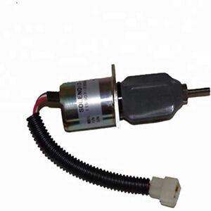 Engine Fuel Stop solenoid OEM 1753ES-24A3UC5B1S1 For Yanmar 4TNE98 4TNE94 4TNC88