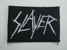 Slayer Thrash Metal Woven Patch