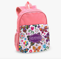 Personalized Floral Kids Backpack
