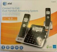 AT&T 2 Handset Cordless Phone Digital Answering System DECT 6 TL96271