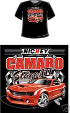 NICKEY 2010 Camaro Stage III Hot Rod T-Shirt, LARGE