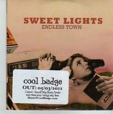 (CU912) Sweet Lights, Endless Town - 2011 DJ CD