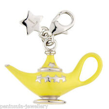 Tingle Aladdins Lamp Clip on Sterling Silver Charm with Gift Box and Bag SCH218