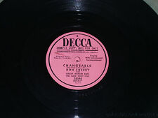 "DON CHERRY & GRADY MARTIN A Lovers Quarrel/ Changeable PROMO 10"" 78 Decca 28548"