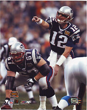Tom Brady Super Bowl 8x10 photo #ed Hologram #4