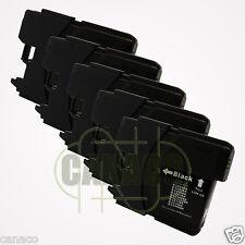 5 Black LC61 ink LC61BK LC-61BK LC 61 BK Black ink