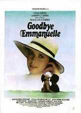 Goodbye Emmanuelle Poster 01 A2 Box Toile imprimer