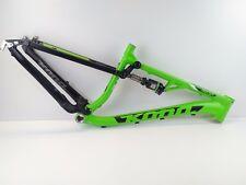 "2015 Kona Precept 120 27.5"" 650B Medium Mountain Bike Frame - Green USED 110"